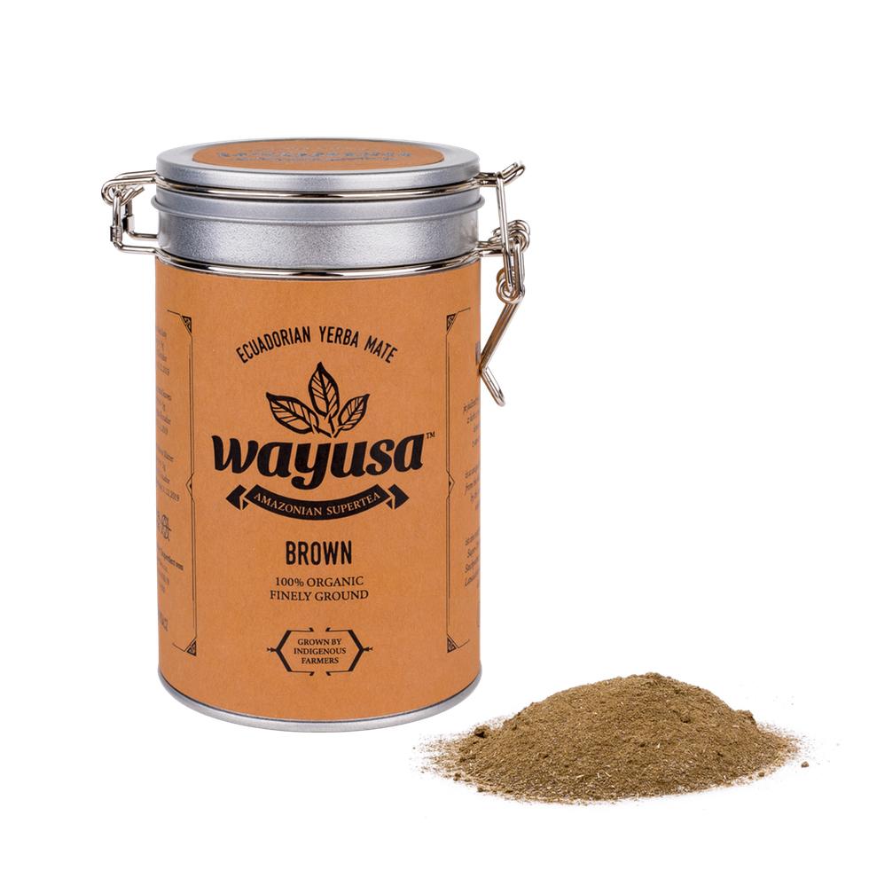 Wayusa Brown – jemne mletá 200g