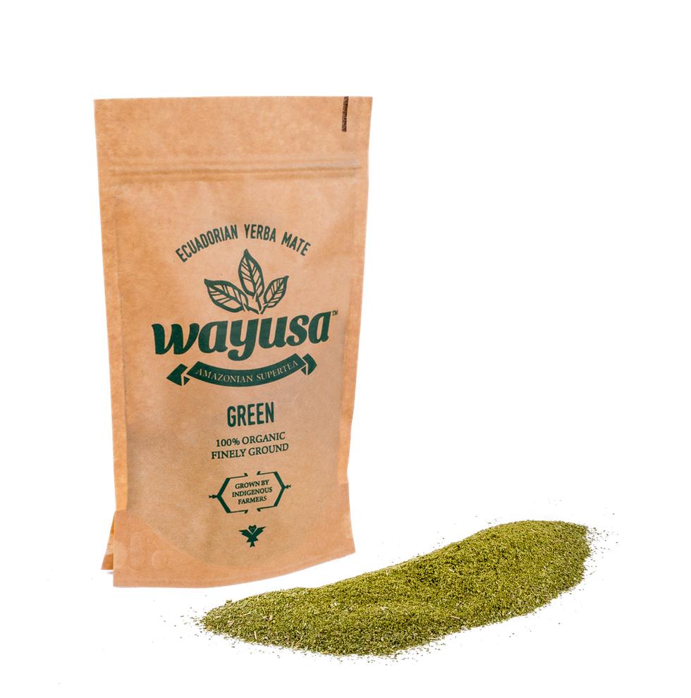 Wayusa green – jemne mletá 100g